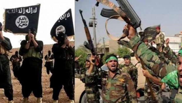 IŞİD ve Haşdi Şabi birbirine girdi