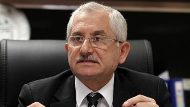 YSK Başkanı: Kimse bize Demirtaş için talimat vermedi