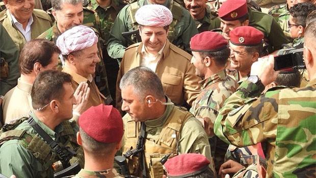 Başkan Barzani Pırde cephesinde