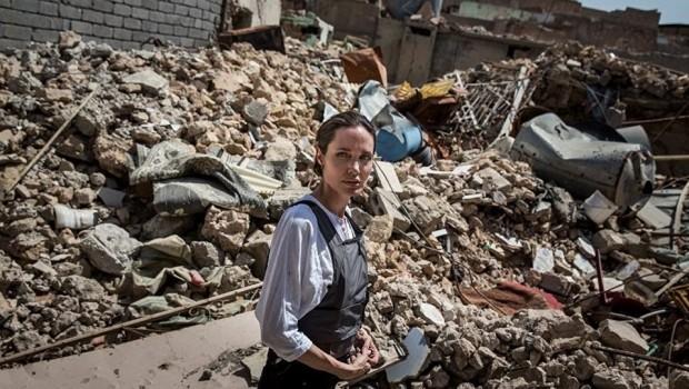 Angelina Jolie Musul'u ziyaret etti