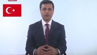 Demirtaş'ın TRT'deki propaganda konuşması