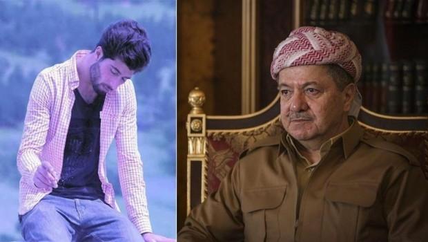 Başkan Barzani'den Kürt genci için başsağlığı mesajı