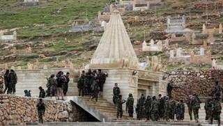 Şengal'de ortak askeri merkez oluşturuluyor
