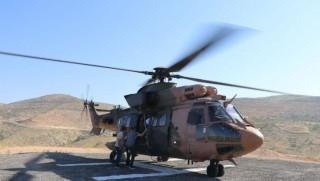 Kürt illerinde oy pusulaları helikopterlerle taşındı