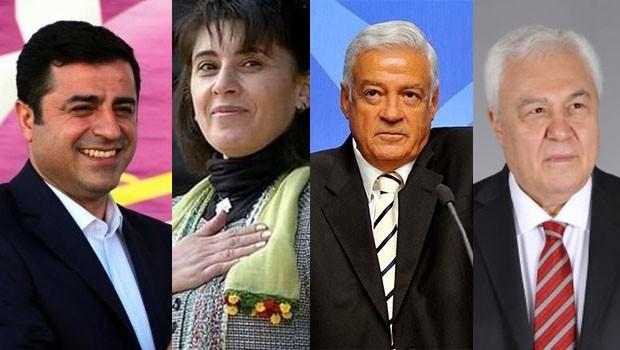 HDP'nin ünlü isimleri TBMM'ye veda etti