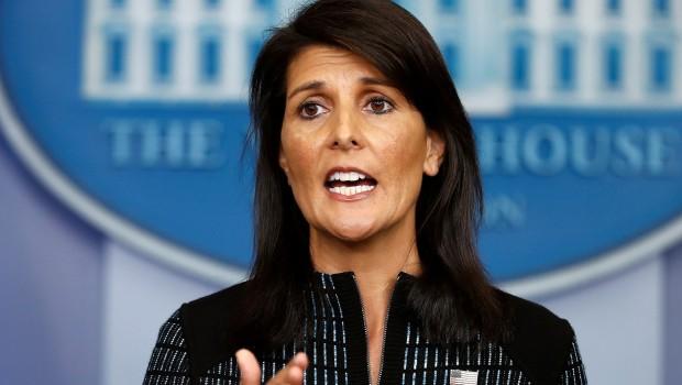 Haley: Kuzey Kore'den sonra sırada İran var!