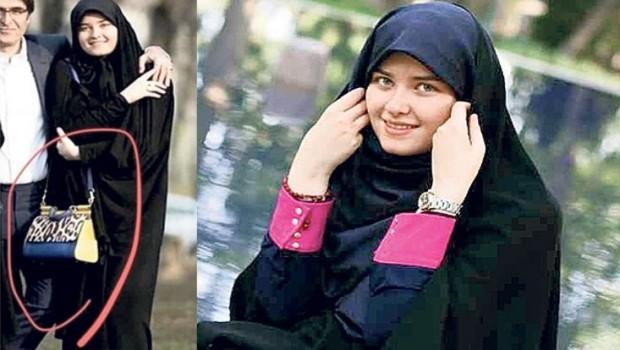 Humeyni'nin torunu çantası İran'da gündem oldu