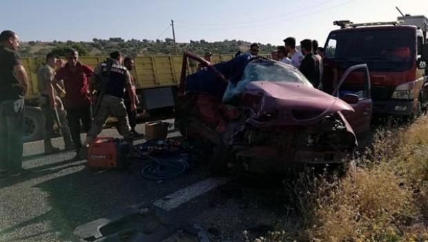 Diyarbakır'da korkunç kaza! 3 ölü...