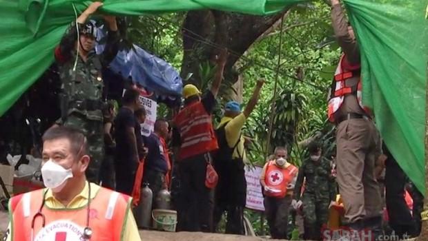 Tayland'da 4 çocuk daha kurtarıldı