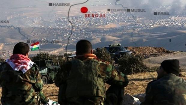 Irak ordusu Şengal'i Heşdi Şabi'ye bıraktı