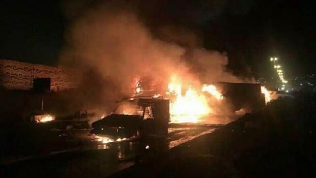 Doğu Kürdistan'da feci kaza: En az 15 kişi...