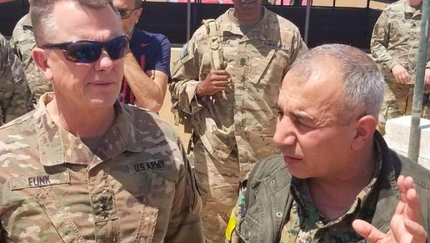 Koalisyondan YPG'li paylaşım