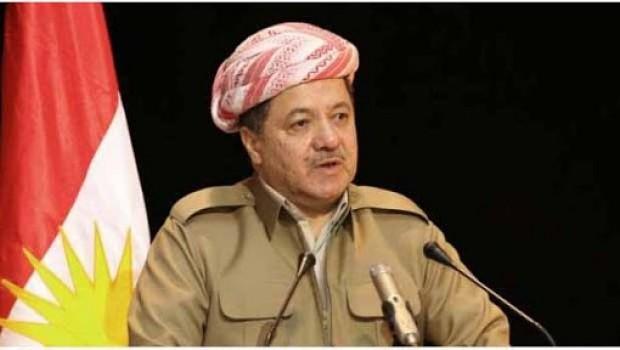 Başkan Barzani'den başsağlığı mesajı