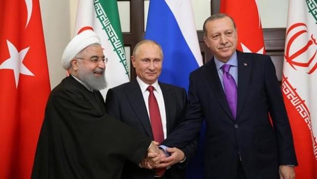 İran: Putin, Ruhani ve Erdoğan Tahran'da buluşacak!
