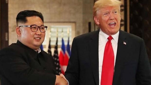Trump, Kuzey Kore liderinin Kim'in kendisine yolladığı mektubu yayınladı