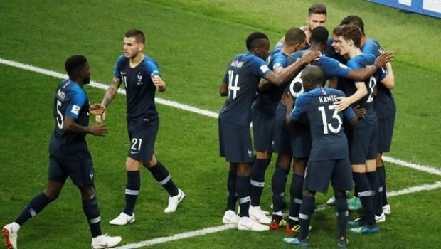2018 Dünya Kupası şampiyonu Fransa