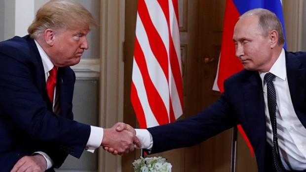 Helsinki'de tarihi zirve: Putin-Trump görüşmesi başladı
