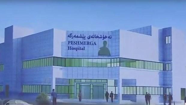 Peşmerge için hastane inşa ediliyor