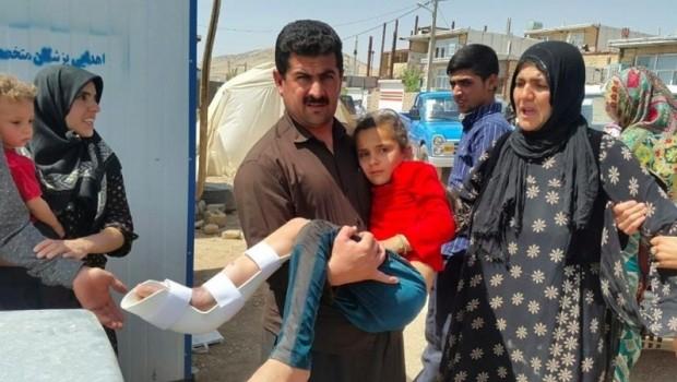 Doğu Kürdistan depreminde 40 yaralı