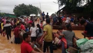 Laos'ta baraj çöktü: Yüzlerce kişi kayıp