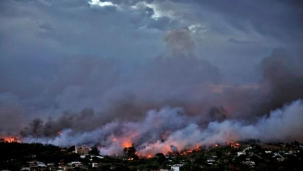 Yunanistan'daki orman yangınında ölü sayısı 80'e yükseldi