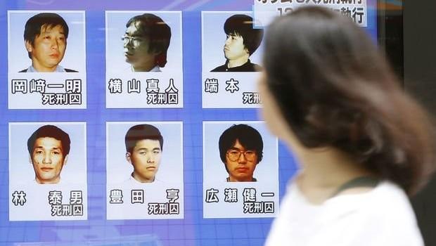 Japon tarikatın son 6 üyesi de idam edildi!