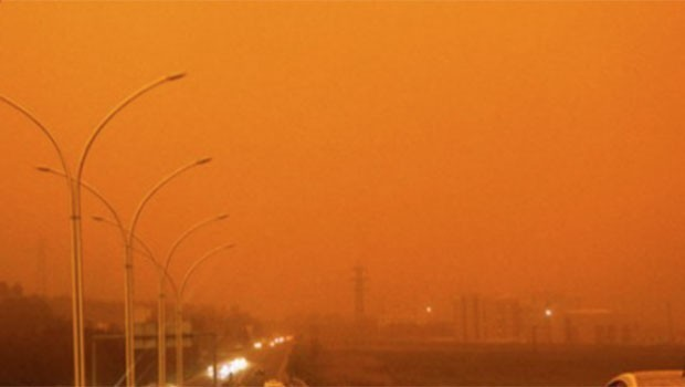 Kürt illeri için toz uyarısı