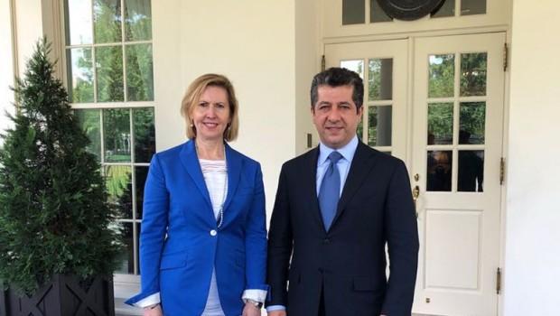 Mesrur Barzani Beyaz Saray'da