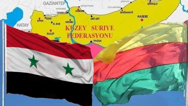 Rojava Heyeti müzakere için Şam'da, görüşmeler başladı!