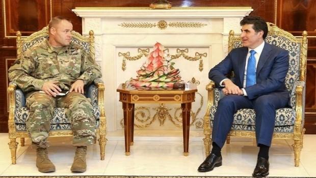 Başbakan Barzani ABD'li heyeti kabul etti