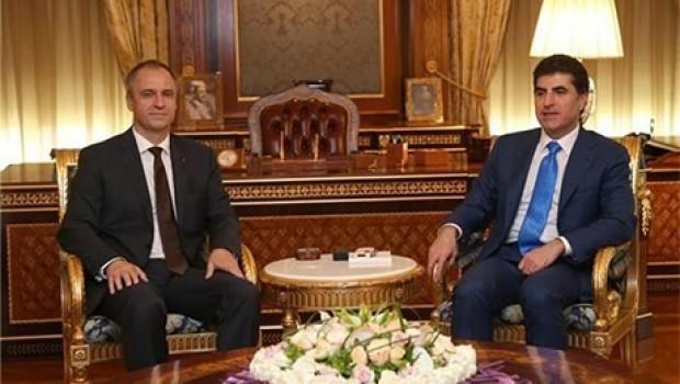 Başbakan Barzani: Çekya ile ilişkileri geliştirmek istiyoruz!