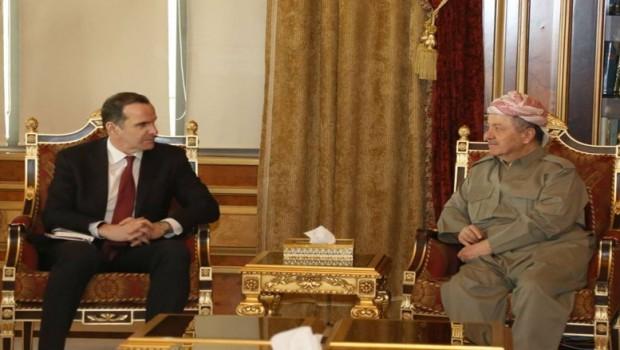 Başkan Barzani'den McGurk'a 3 önemli vurgu!
