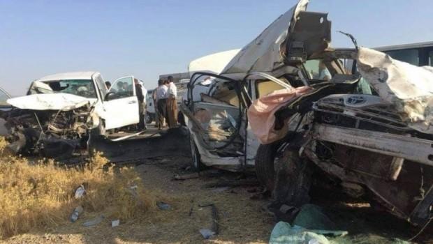 Erbil'de trafik terörü: 3 ölü, 4 yaralı