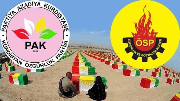 Kürt partilerinden Enfal mesajı