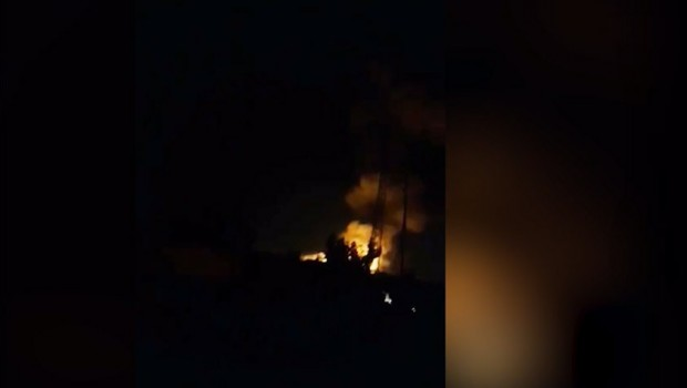 Erbil'de silah deposunda patlama