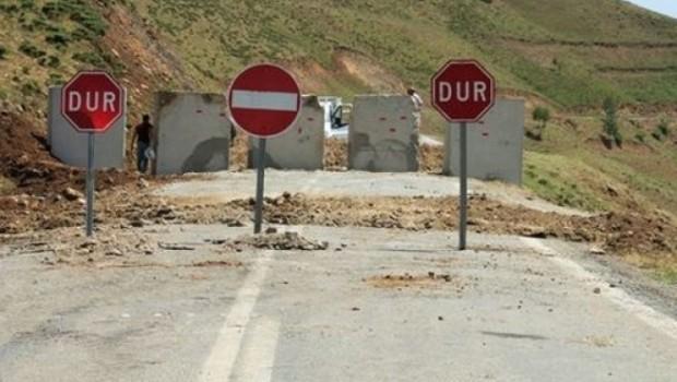 Hakkari'de 30 bölgeye giriş yasaklandı