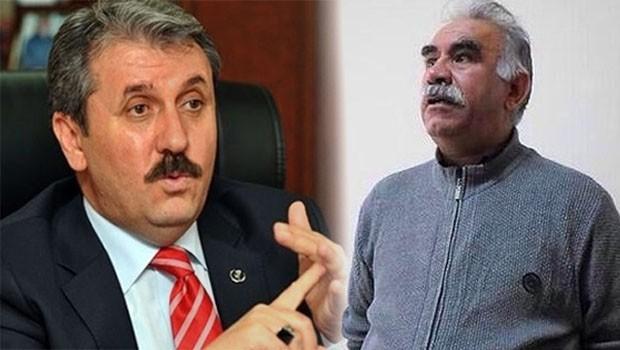 Destici: Yasa çıkarsa Öcalan idam edilir