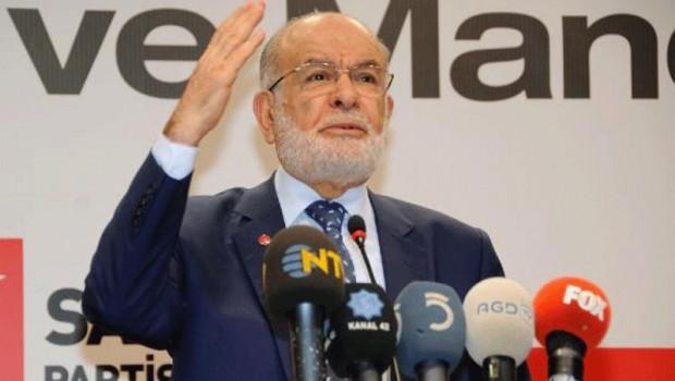 Karamollaoğlu'dan liderlere çağrı: Toplanalım