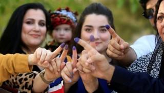 Kürdistan seçimlerinde başvuran Kadın aday sayısı