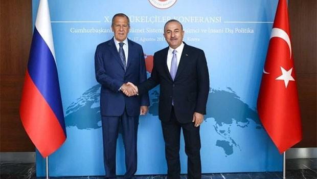 Çavuşoğlu ve Lavrov'dan İdlib mesajı