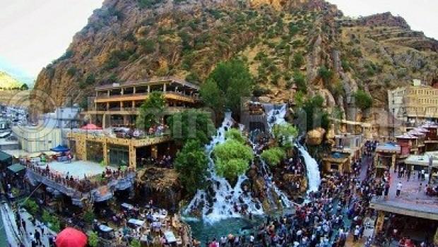Kürdistan'da turist yoğunluğu arttı