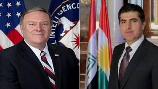 Başbakan Barzani Pompeo ile görüştü
