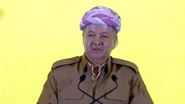 Başkan Barzani: Bir kez daha tekrarlıyoruz... Asla boyun eğmeyeceğiz!