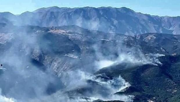 Dersim Valiliği'nden 'orman yangını' açıklaması