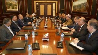 Başkan Barzani Sunni Araplarla görüştü