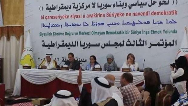 DSM Suriye'yi uyardı... Yer almazsak, uymayız!
