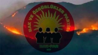 Hak-Par: Dersim'de ormanları da düşman gören politika değişmelidir