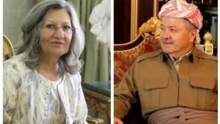Talabani ailesinden Başkan Barzani'ye ziyaret