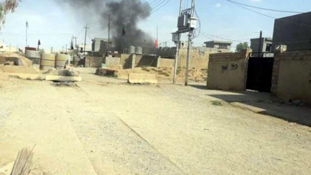 Kürt mahallelerine havanlı saldırı: 1 yaralı