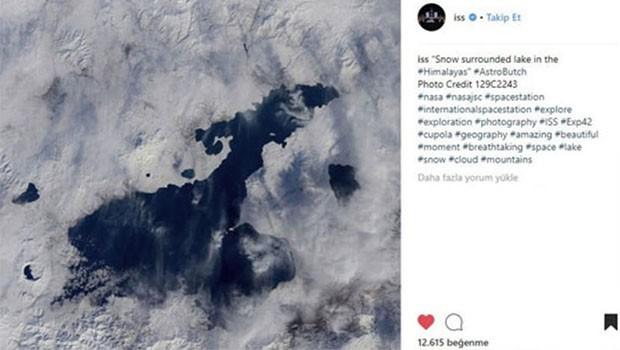Uluslararası Uzay İstasyonu 'Van Gölü' hatasını düzeltti